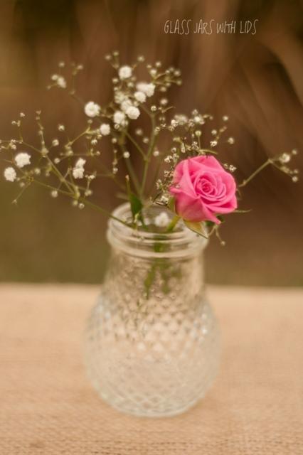 Rustic Wedding Flower Vases Rustic Glass Jars Use For Flower Vases Flower Vase Round Jars